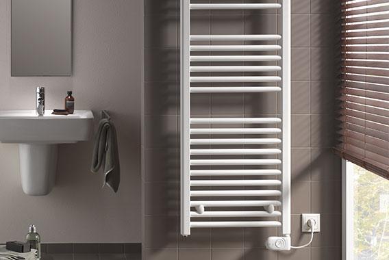 Radiateurs de salle de bain - Un chauffage moderne dans la salle de ...